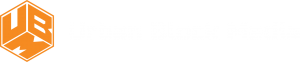 Urban Block Media (UBM) horizontal logo