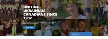 https://www.unfcanada.ca/ website by Urban Block Media in Ottawa
