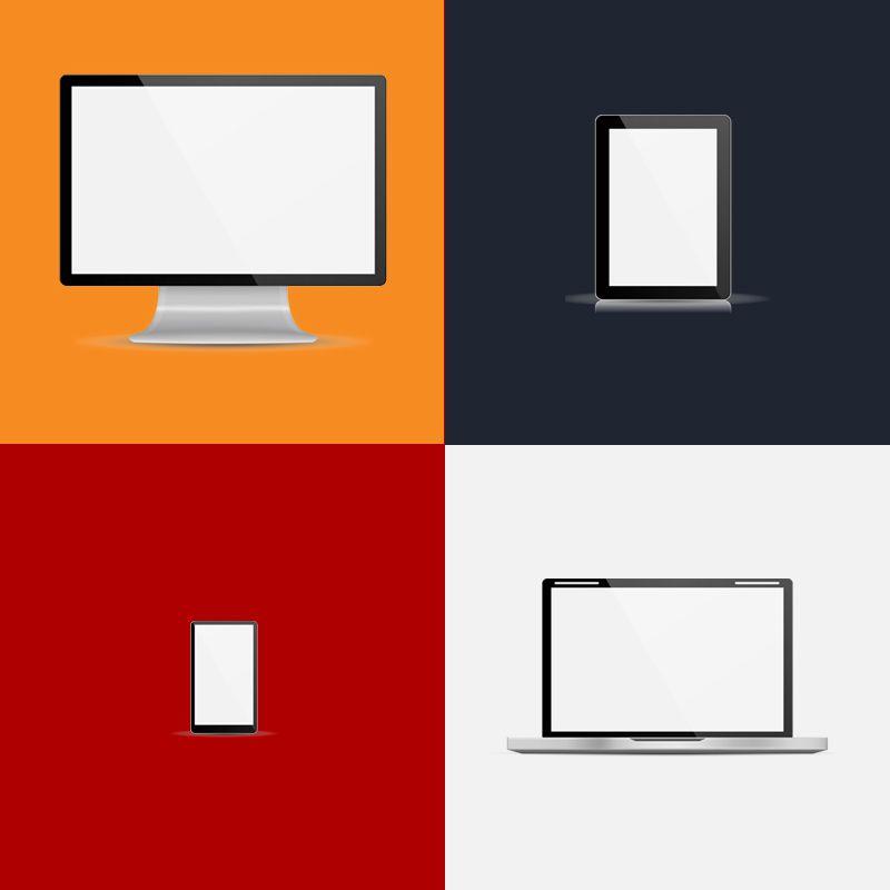 Desctop PC, laptop, Tablet, mobile phone by Urban Block Media in Ottawa