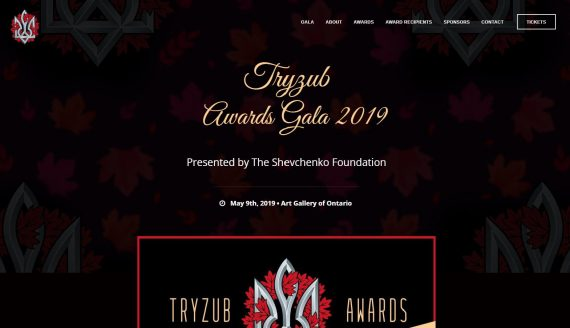 Tryzub Awards Gala Portfolio by Urban Block Media in Ottawa