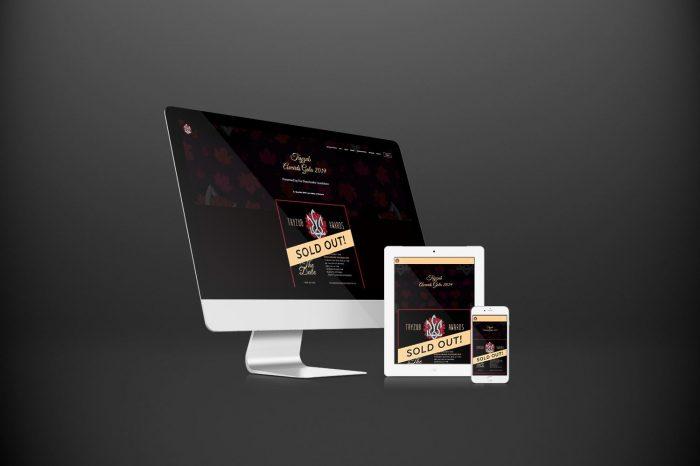 Tryzub Awards Gala with three devices by Urban Block Media in Ottawa
